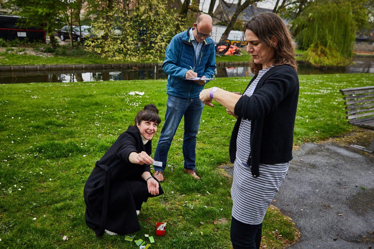 Nederland, Rotterdam, 17/04/2019  WSR Cafe bij Laurens Simeon en Anna in Vreewijk.  foto Jan de Groen